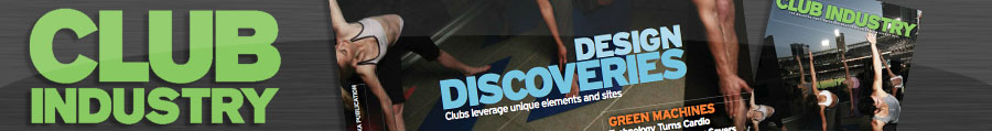 "Club Industry Magazine Cover Feature – ""Design Discoveries"" August 2010"