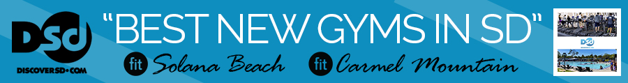 "Discoversd.com Names Fit Solana Beach & Fit Carmel Mountain ""Best New Gyms in San Diego"""