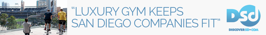 """Luxury Gym Keeps San Diego Companies Fit"" – Discoversd.com"