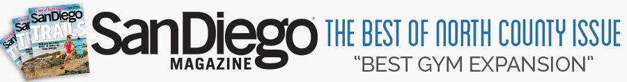 """Best North County Gym Expansion"" – San Diego Magazine"