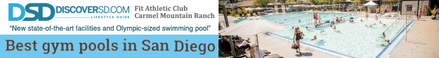 "Discoversd.com names Fit Athletic Club Carmel Mountain ""Best Pools in San Diego"""