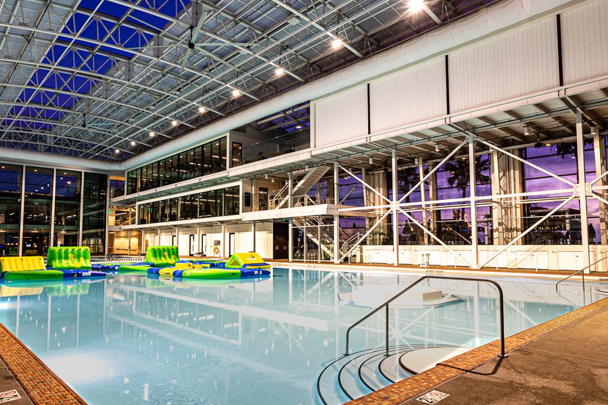 Fit Mission Beach Indoor Pool Yoga