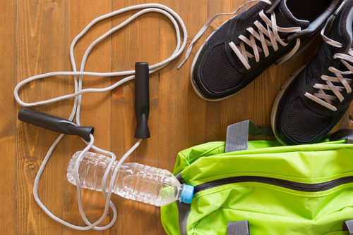 What do you pack in your gym bag?