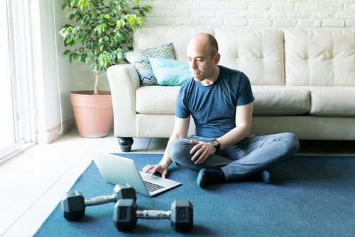 4 Tips for Working Out at Home