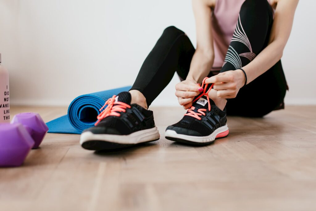 How can I keep myself fit at home?